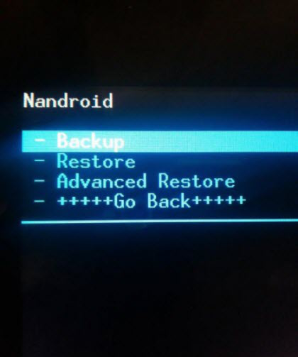 how to make backup of iphone in recovery mode