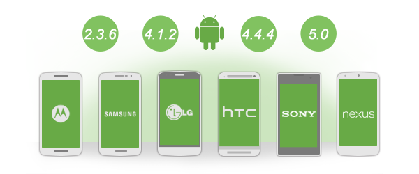 Compatible with Multiple Android Device