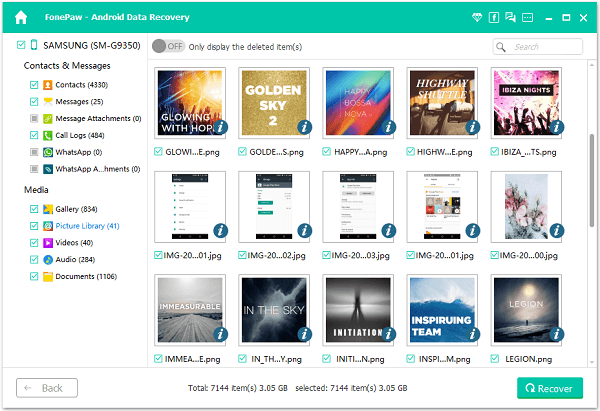 Recover Samsung Lost Data