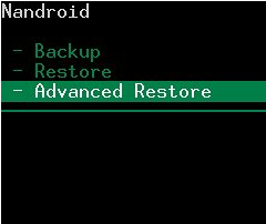 Advanced-Restore