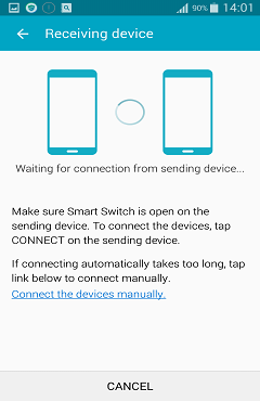 Device is Connecting