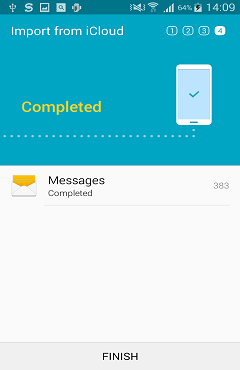 Transfer Messages from iPhone to Galaxy S6