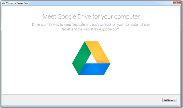 Get Started to Set Google Drive