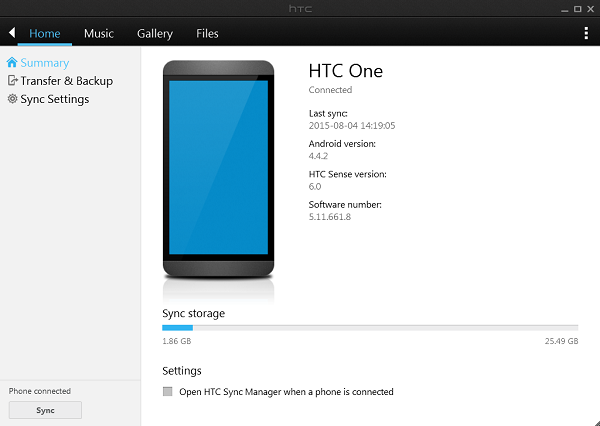 how to take the back of htc one