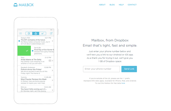 Manage Email with Mailbox