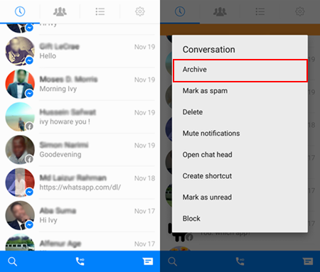 How to Back Up and Archive Facebook Messages