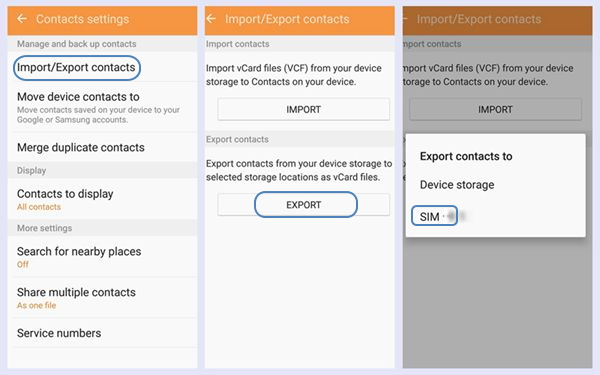 4 Methods to Backup Contacts from Samsung Galaxy S8