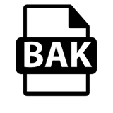 Preview Backup File with Bak Format