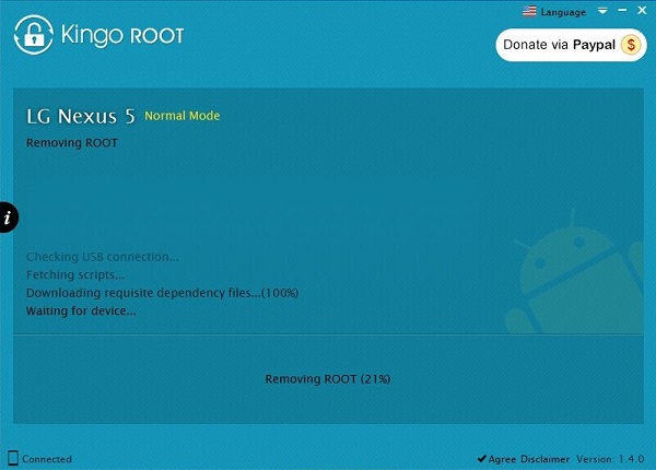 Removing Android Root