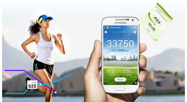 S Health Track Running and Walking Data
