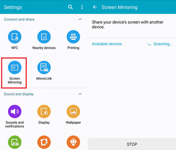 How to Mirror Android Screen to Smart TV