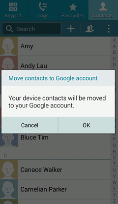 how to delete unknown contacts on samsung galaxy s3