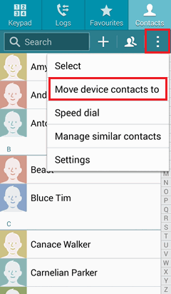 How To Backup Android Contacts To Gmail