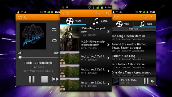 VLC Player App for Android