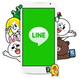 Use LINE to Contact with Friends