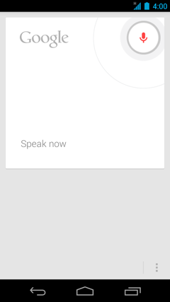 Voice Search The Internet on Google Search