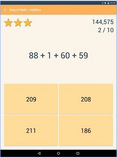 King of Math Android App