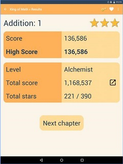 King of Math Game App