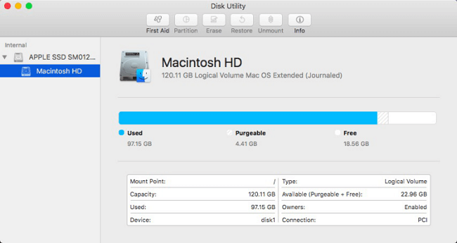 Fix Mac Hard Drive with Disk Utility