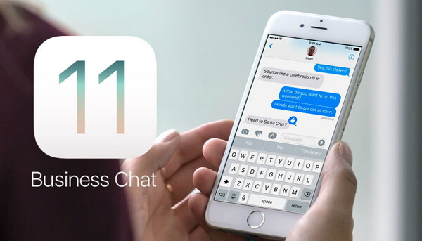 Make iMessage Business Chats