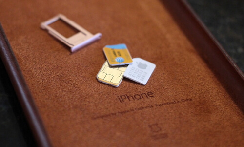 SIM Card to Store Data