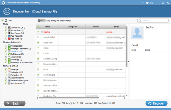 Restore iCloud Backup to iOS Devices