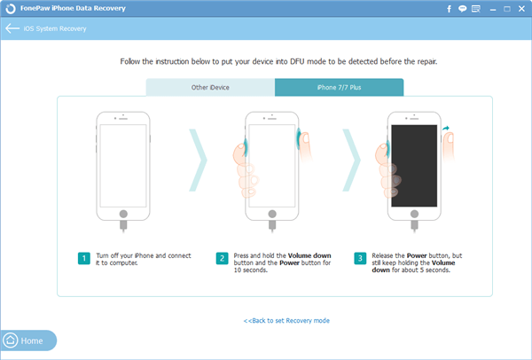 Start to Fix Your iPhone