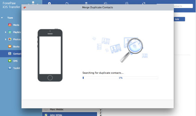 Find Duplicate Contacts