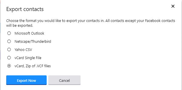Move Yahoo Mail Contacts