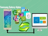 Backup Samsung Galaxy Alpha to PC