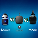 Comparison Among Rift Vive PlayStation