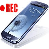 Record Screen of Samsung Galaxy