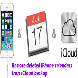 Recover Calendar from iCloud