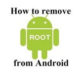 Remove Root Android