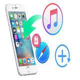 Restore iPhone Bookmark from iTunes