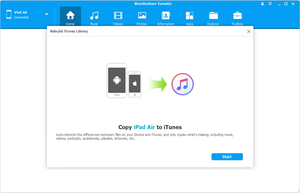 Rebuild iTunes Library with Easy Steps