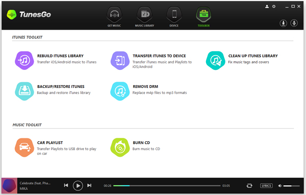 Manage iTunes Library