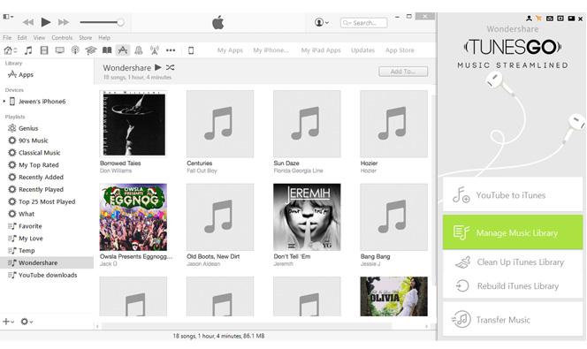 Fix iTunes Music Library