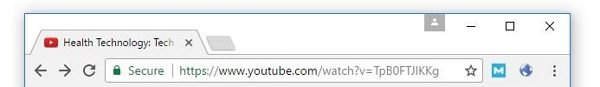 Copy the URL from YouTube