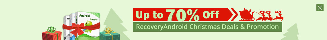 Up to 70% Off Christmas Promotion in RecoveryAndroid
